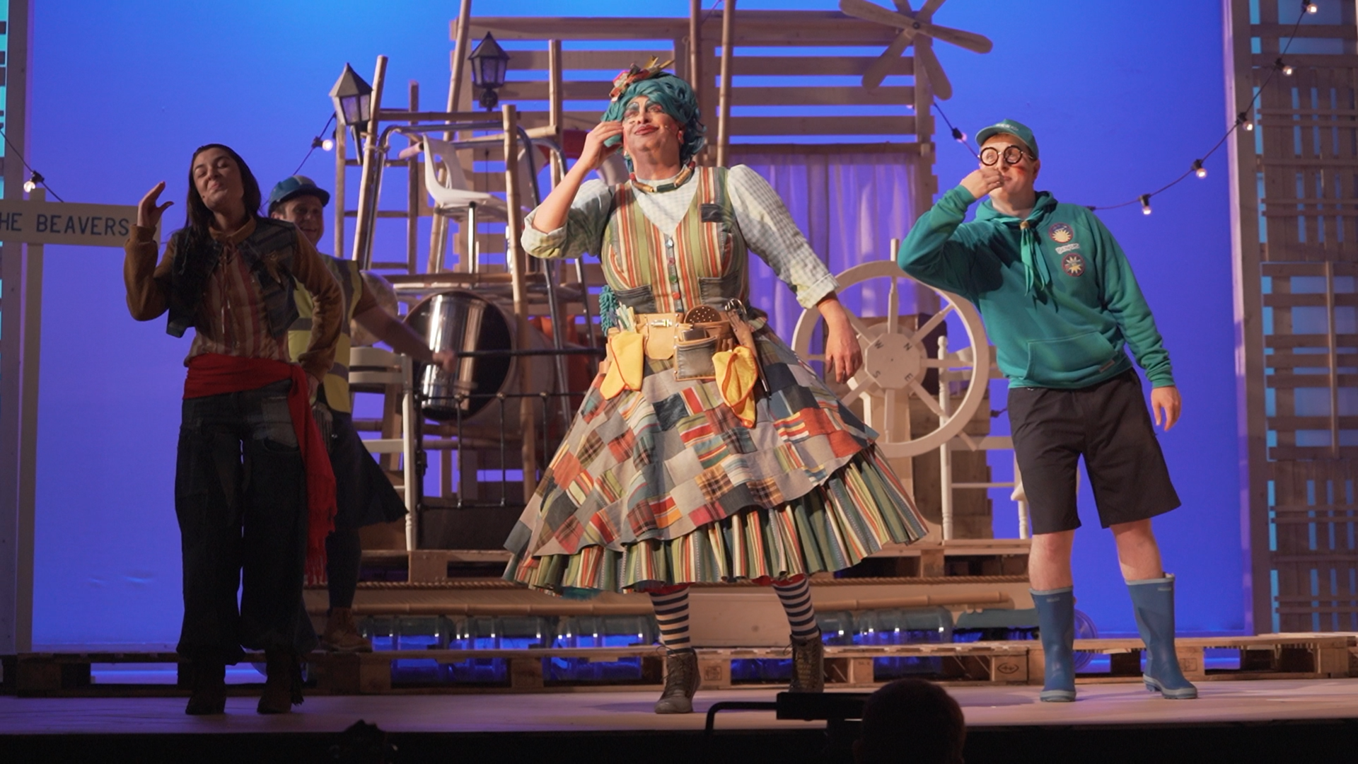 Perth Panto Trailer Creation – video and edit
